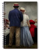 Store - The Hat Stand  Spiral Notebook