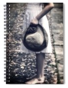 Straw Hat Spiral Notebook
