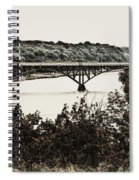 Strawberry Mansion Bridge From Laurel Hill Spiral Notebook
