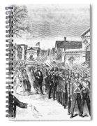 Striking Women, 1860 Spiral Notebook