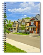 Suburban Homes Spiral Notebook