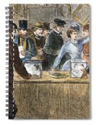 Suffrage: Woodhull Sisters Spiral Notebook