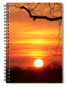 Sunrise In Tennessee Spiral Notebook