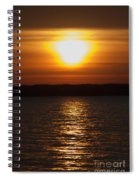 Sunrise On Seneca Lake Spiral Notebook