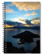 Sunrise Over The Wizard Spiral Notebook