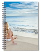 Sunrise Woman Spiral Notebook