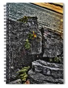 Sunset Please On The Rocks Spiral Notebook