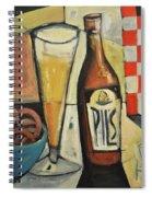 Sunshine And Hops Spiral Notebook