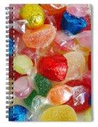 Sweet Candies Spiral Notebook