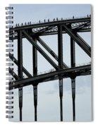Sydney Harbour Bridge Spiral Notebook
