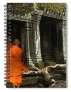 Ta Prohm Cambodia Spiral Notebook