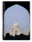 Taj Mahal, Agra India Spiral Notebook