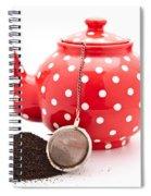 Teapot Spiral Notebook