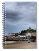 Tenby Harbour From North Beach 2 Spiral Notebook