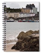 Tenby Harbour From North Beach Spiral Notebook