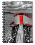 Tenby Lifeboat House Colour Pop Spiral Notebook