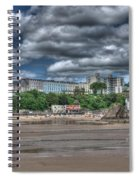 Tenby North Beach Spiral Notebook