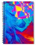 Testosterone Crystal Spiral Notebook