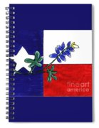 Texas Bluebonnet Spiral Notebook