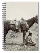 Texas: Cowboy, C1910 Spiral Notebook