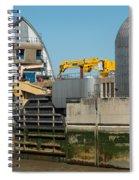 Thames Barrier Spiral Notebook
