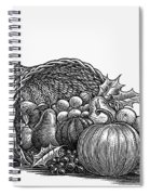 Thanksgiving: Cornucopia Spiral Notebook