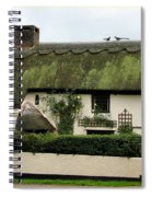 Thatched Cottage Spiral Notebook