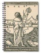 The Astrologer Albumasar Spiral Notebook