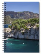 The Calanques Spiral Notebook