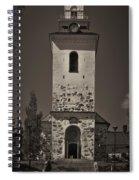 The Church Of Kuopio Spiral Notebook