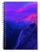 The Color Purple Spiral Notebook