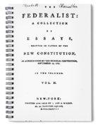 The Federalist, 1788 Spiral Notebook