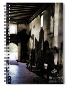The Ghostly Nave Spiral Notebook