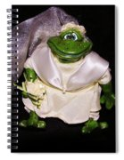 The Green Bride Spiral Notebook