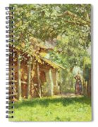 The Gypsy Camp Spiral Notebook