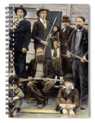 The Hatfields, 1899 Spiral Notebook