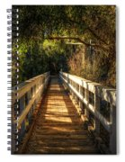 The Little White Bridge II  Spiral Notebook