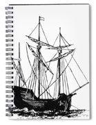 The Mayflower Spiral Notebook