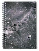 The Moon From Apollo 14 Spiral Notebook