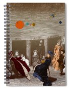 The New Planetarium In Paris, 1880 Spiral Notebook