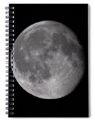 The Old Moon  Spiral Notebook