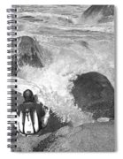 The Photographer On Location Spiral Notebook
