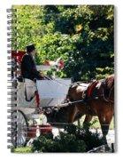 The Ride Thru The Park Spiral Notebook