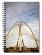 The Seri Wawasan Bridge In Purajaya In Malaysia Spiral Notebook