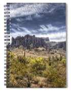 The Superstitions  Spiral Notebook
