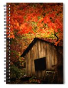 The Wood Shed  Spiral Notebook