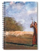 The Young Shepherdess Spiral Notebook