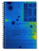 Thermogram Of A Computer Board Spiral Notebook