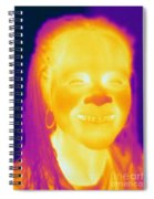 Thermogram Of A Woman Spiral Notebook