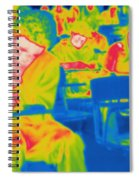 Thermogram Of Students In A Lecture Spiral Notebook